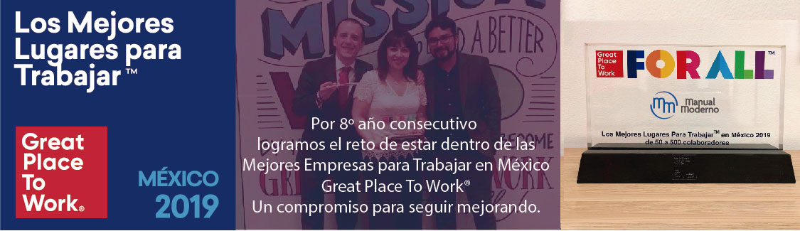 Manual Moderno Great Place to Work 2019