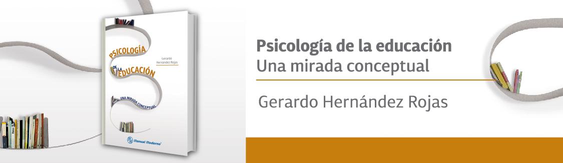Psicología de la educación - una mirada conceptual