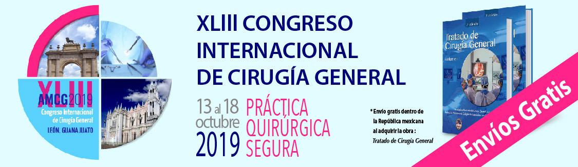 XLIII Congreso Internacional de Cirugía General 2019