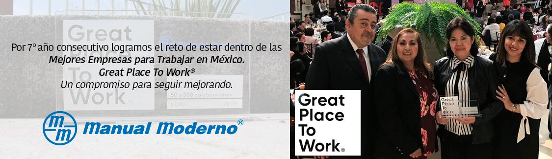 Por septimo año consecutivo logramos el reto de estar dentro de las Mejores Empresas para trabajar en México, es un compromiso para seguir mejorando día con día
