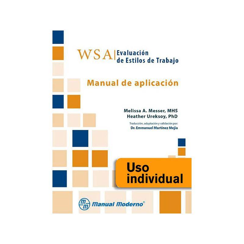 Tarjeta Uso Individual / WSA. Evaluación de estilos de trabajo