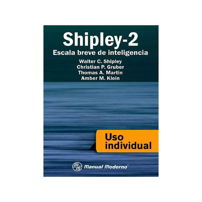 Tarjeta Uso Individual / Escala Breve de Inteligencia Shipley-2