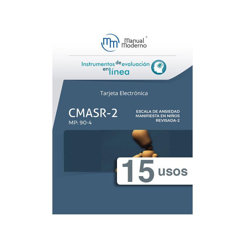 Tarjeta electrónica / Escala de ansiedad manifiesta en niños revisada (CMASR-2)