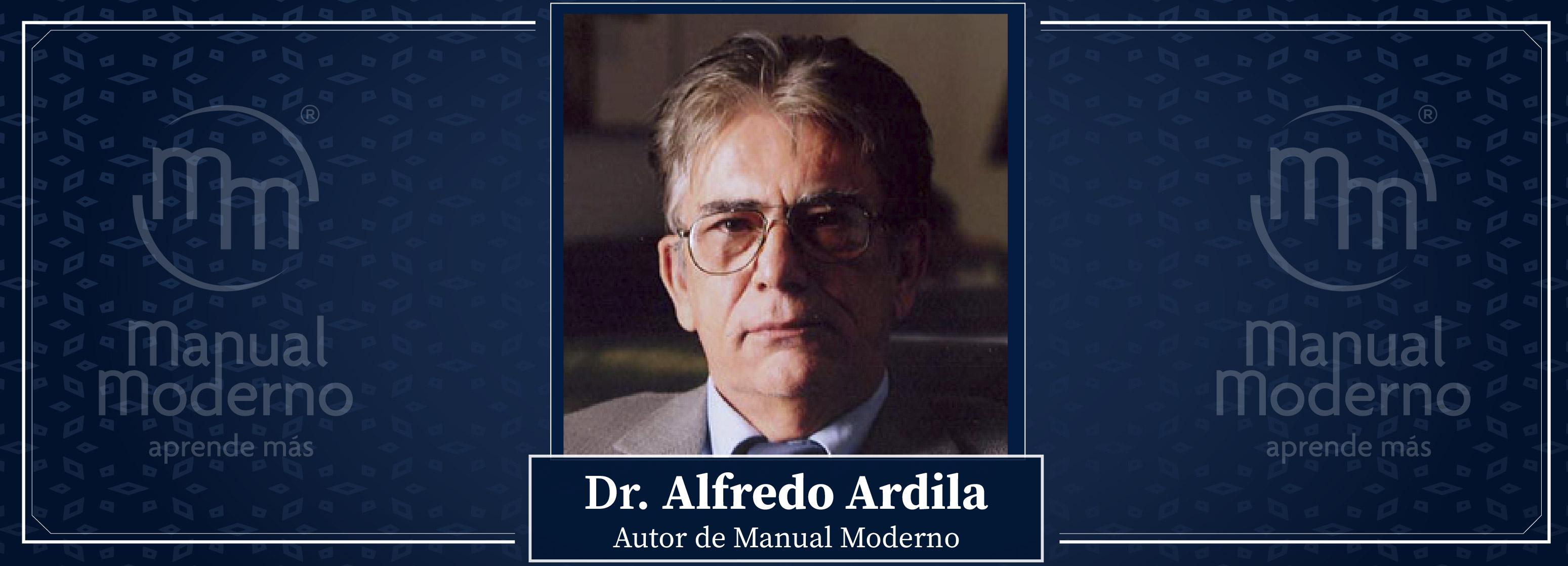 Nuestros Autores. Dr. Alfredo Ardila