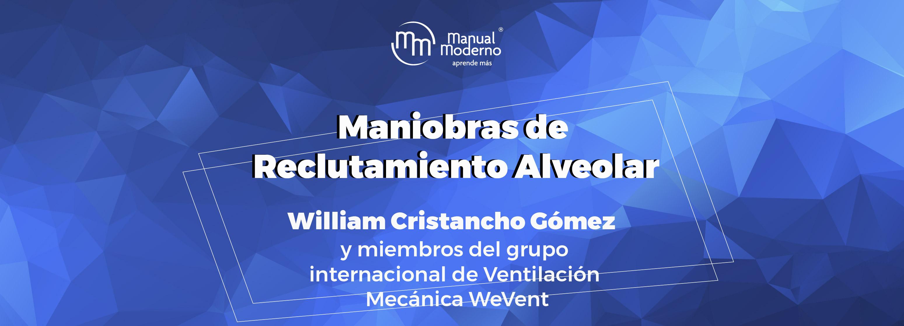 MANIOBRAS DE RECLUTAMIENTO ALVEOLAR