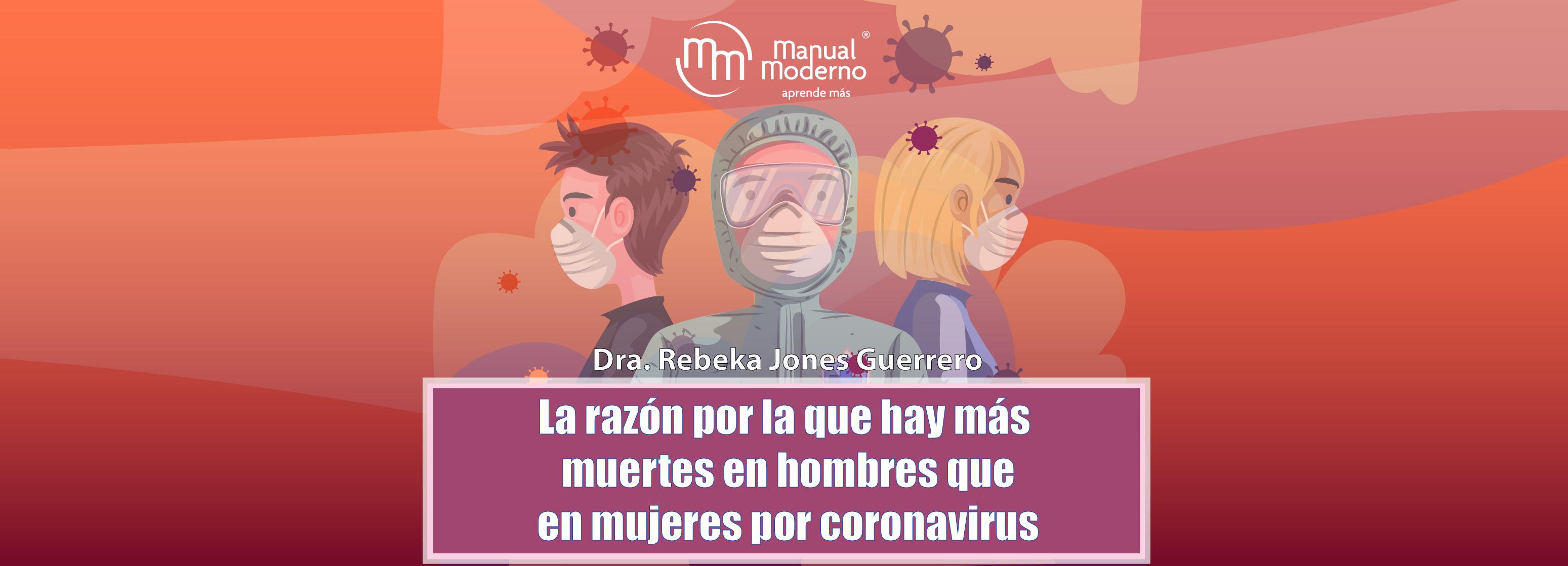 La razón por la que hay más muertes en hombres que en mujeres por coronavirus